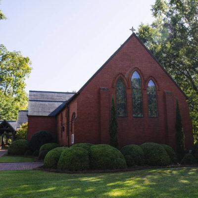 Calvary Episcopal Church and Lee Street Bridge