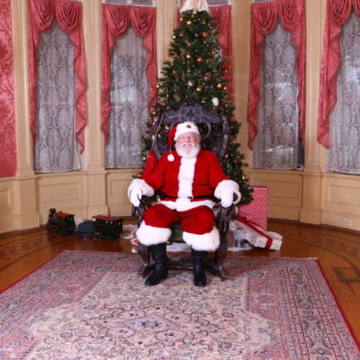 Santa to Visit Kids from Camp Sunshine and Kate's Club at Rhodes Hall, Nov. 28