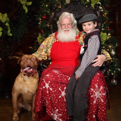 Santa at Rhodes Hall – Pet Night