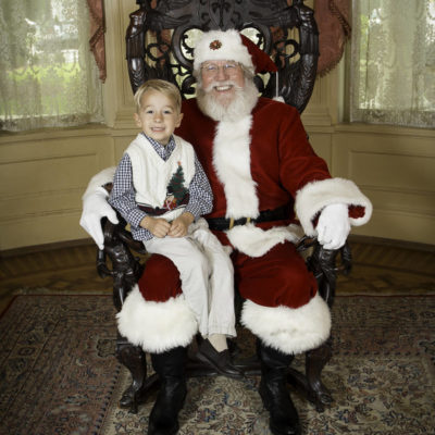 Santa at Rhodes Hall