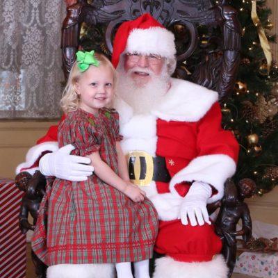 Santa at Rhodes Hall